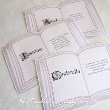 Fairytale Table Names